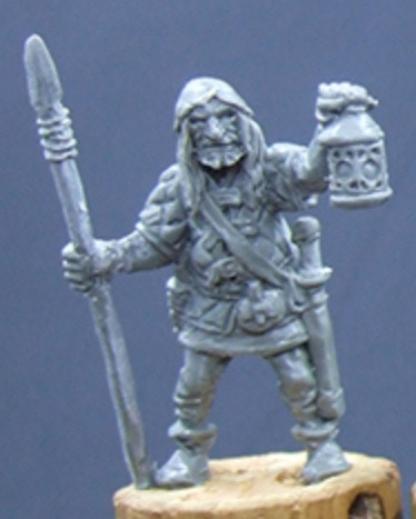 DIR-258 Harbor Town Night Watchman unpainted.