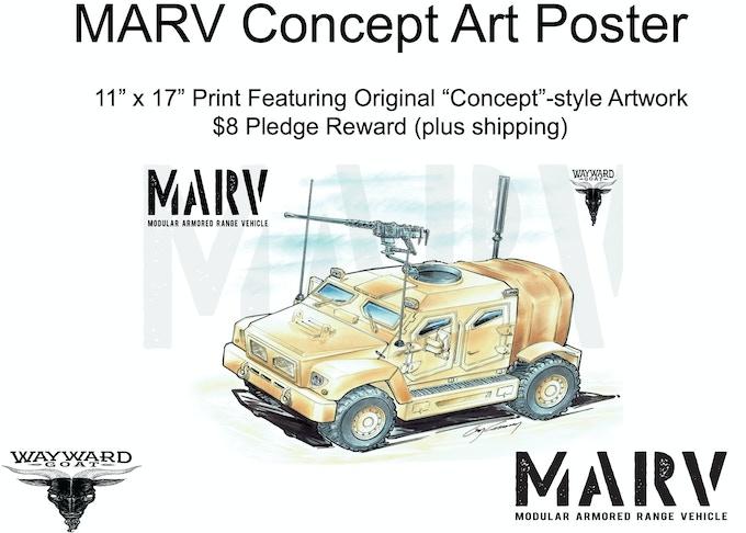 "MARV ""Concept"" 11""x17"" Poster Reward"