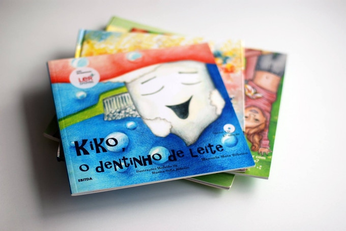The children's books by Jardim das Histórias (in Portuguese only)