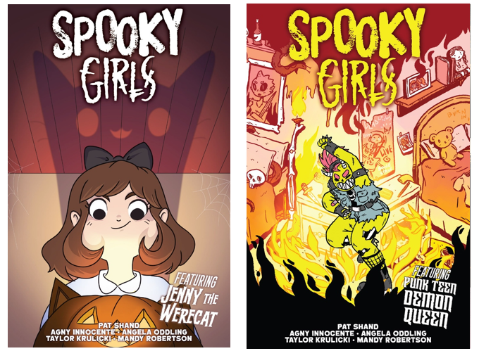 You can pick your favorite cover, OR pledge for all five versions!