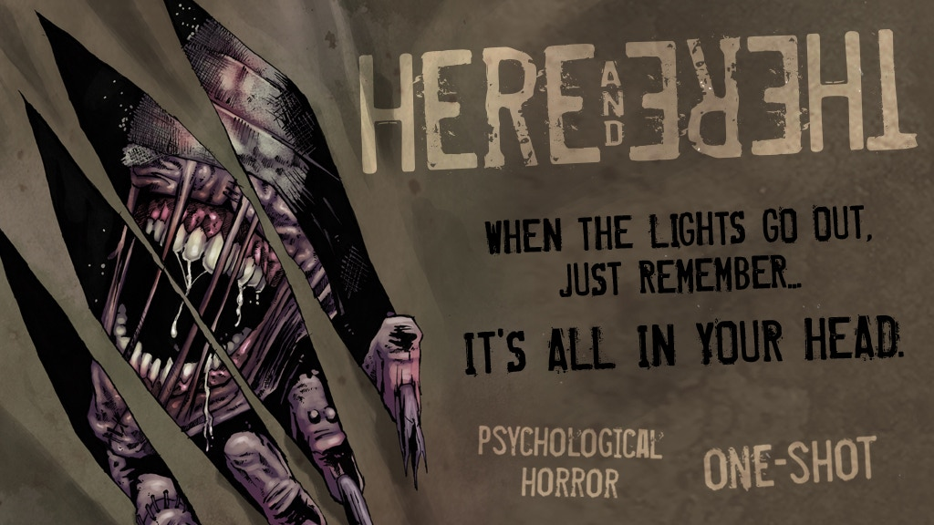 HERE & THERE - A Psychological Horror One-Shot Comic project video thumbnail