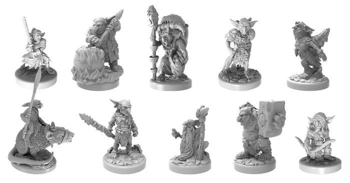 Sculpts are ready and raring to go