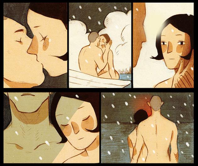 Panels from Shuran's comic.