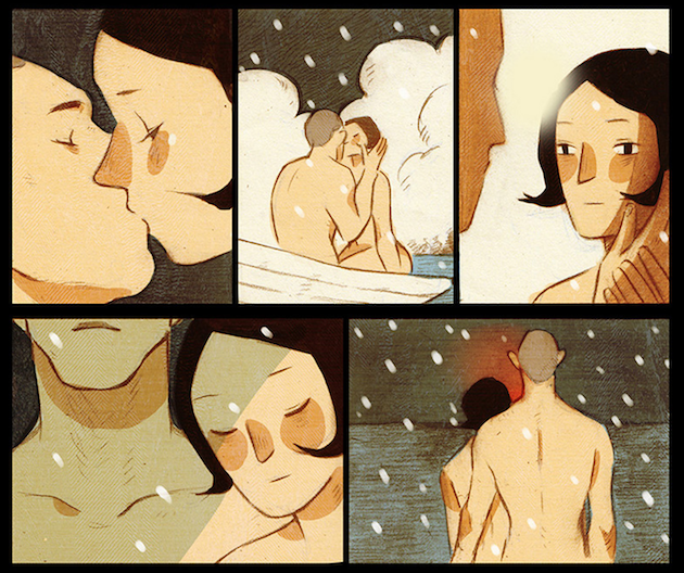 Panels from Shuran's comic.