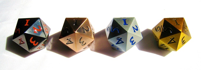 D20s Add-ons (Standard or Countdown) at £6 each