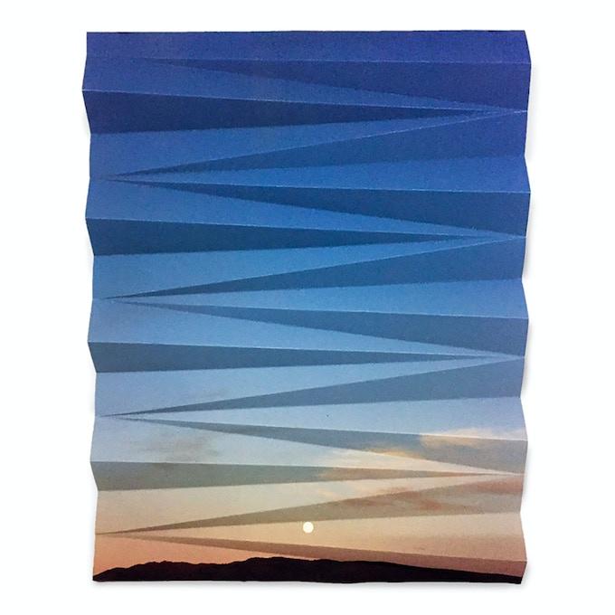 """Montello Sunset Fold, 2018, 11"""" x 14"""""""