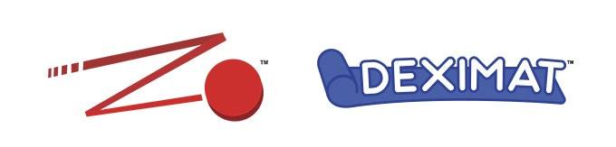 Dexterity Game System & Deximat logos.