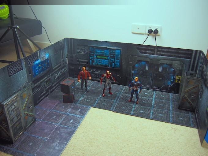 Candid image regarding printable diorama