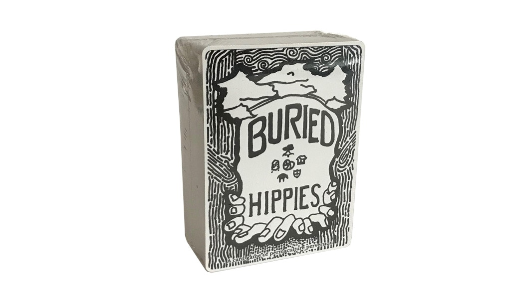 Buried Hippies - card game