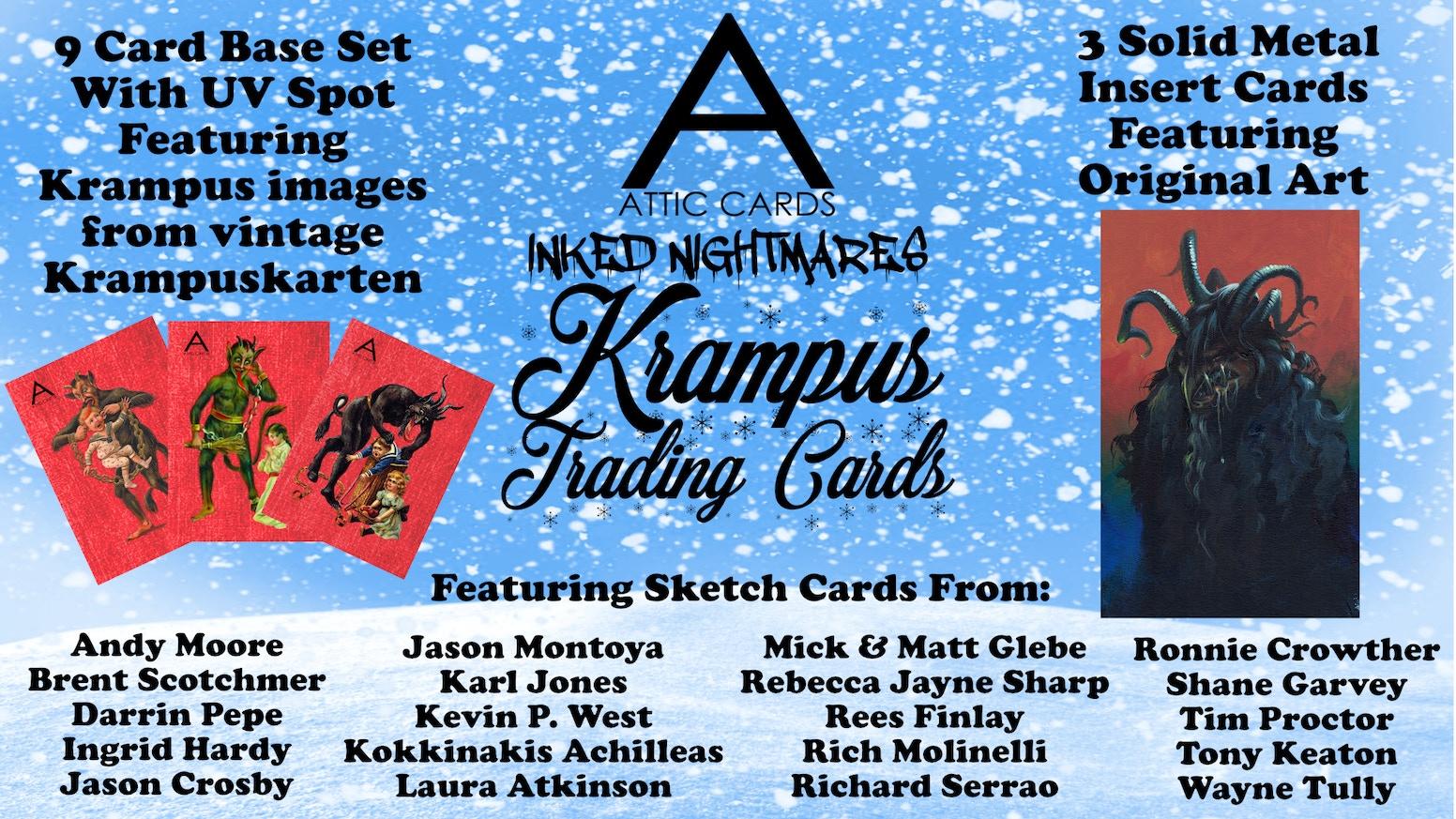 Krampus Trading Cards By Attic Card Company Kickstarter