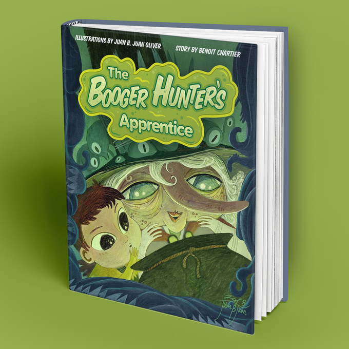 The Booger Hunter's Apprentice Cover