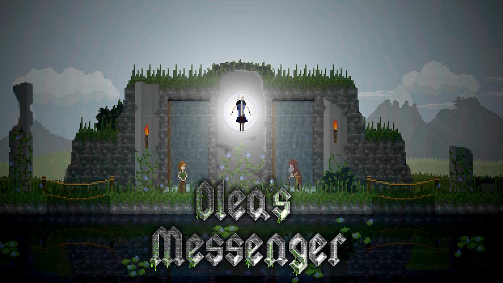 Olea's Messenger - Pixelart Metroidvania