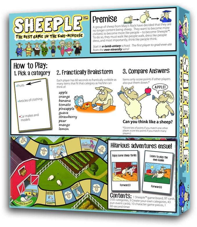 SHEEPLE Box - Back