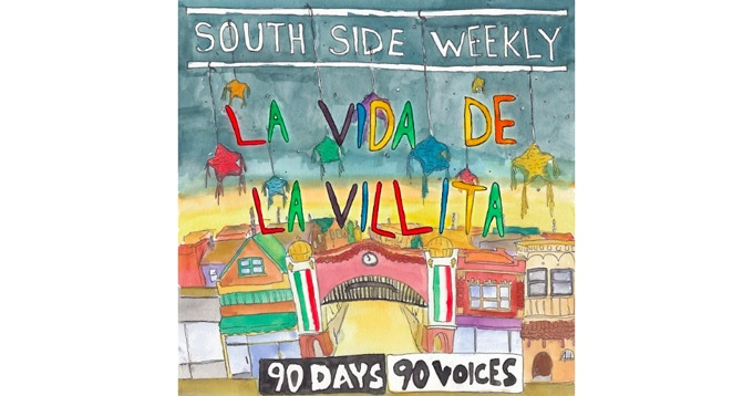 South Side Weekly cover illustrated by Dan Rowell