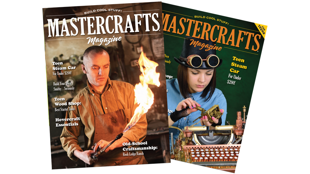 Mastercrafts Magazine - Build Cool Stuff! project video thumbnail