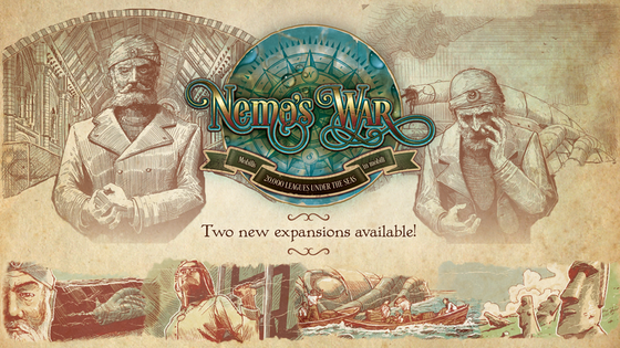 Nemo's War: Bold and Caring & Dramatis Personae Expansions