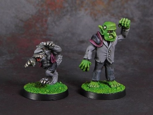 Wolf And Golem set £8 or £5 each