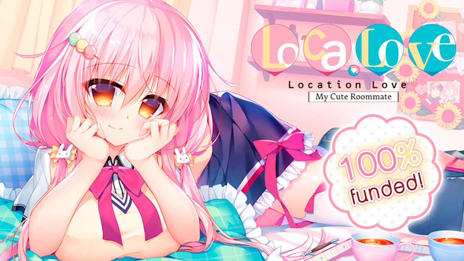 Enjoy a Sugary Sweet Life with Visual Novel Loca-Love! by