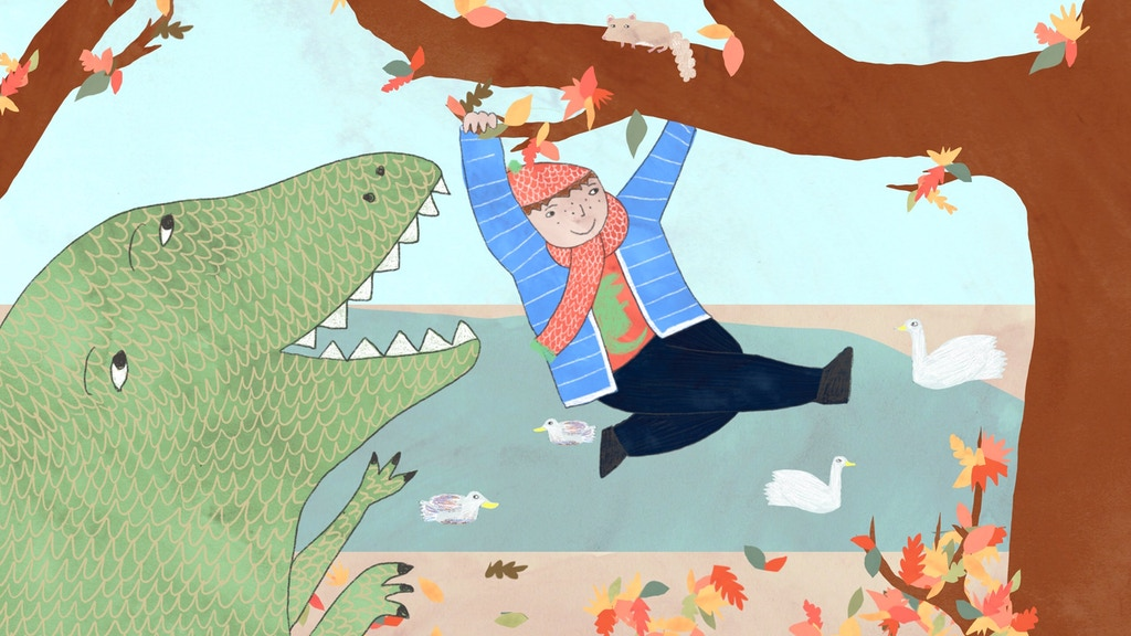 A Dinosaur Day Out: a children's book project video thumbnail