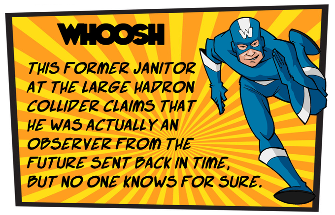 Known Powers - By double timing it he can place two service markers on two different tables at once or by using his super swift speed he can place six service markers in a turn rather than five.