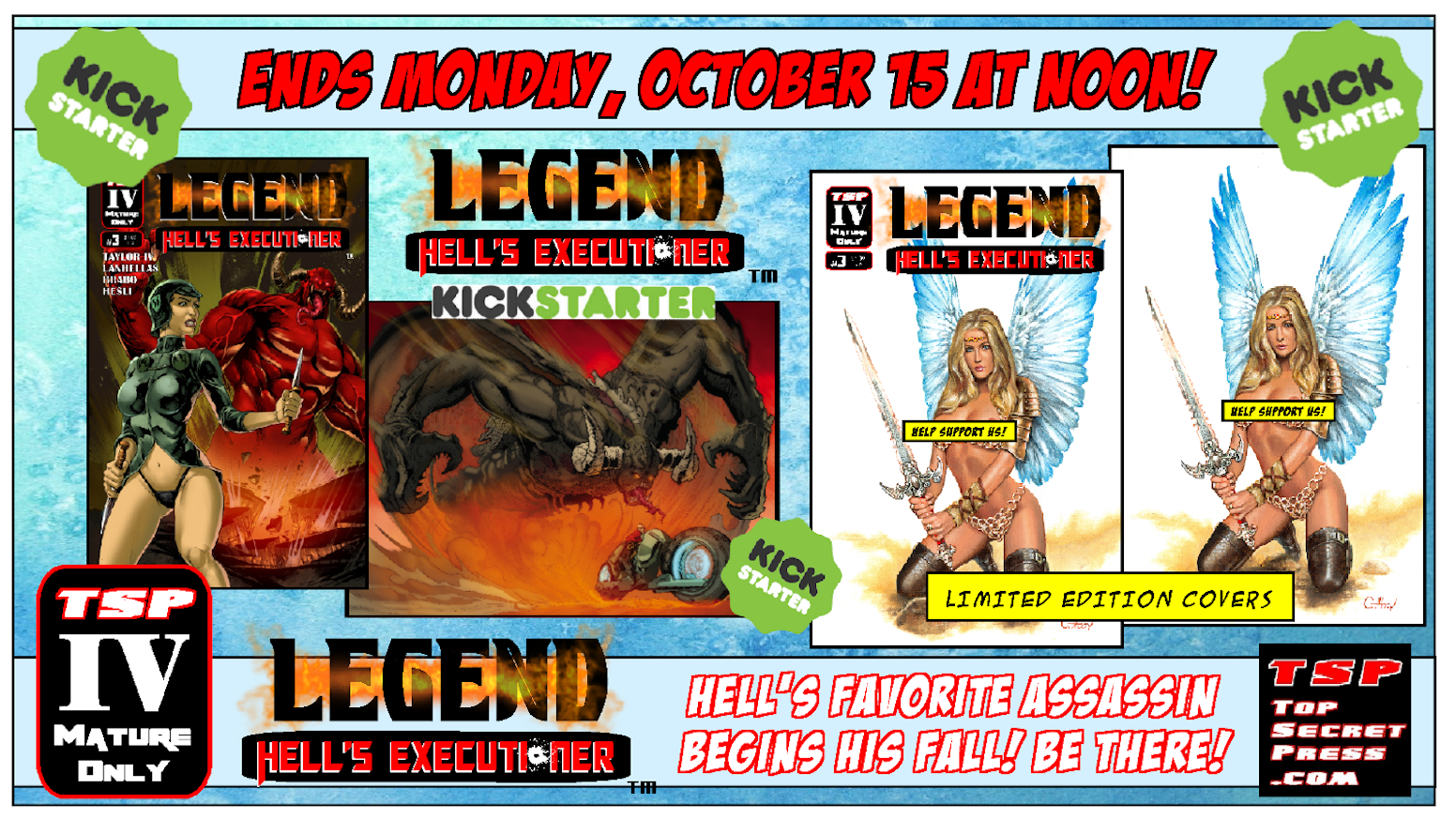 Thanks for supporting Legend: Hell's Executioner #3!