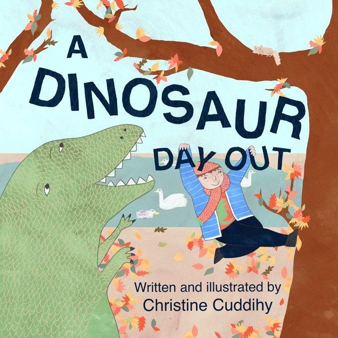 A Dinosaur Day Out front cover