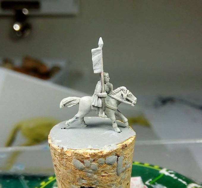 Mounted Sergeant Banneret