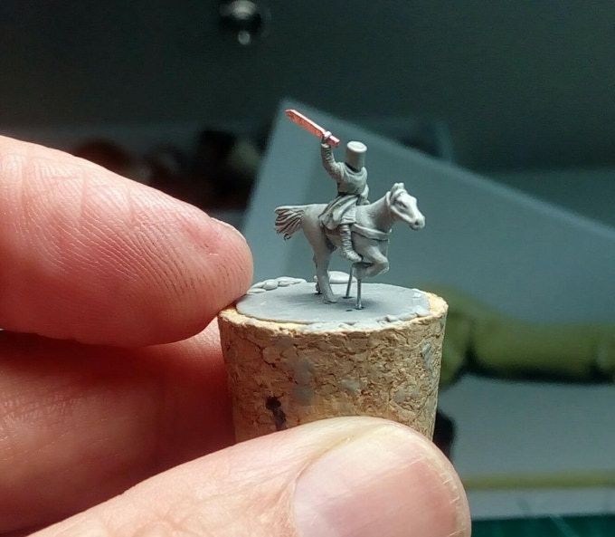 Knight with sword - WIP