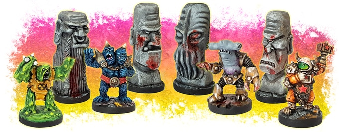 The Miniatures - 35mm scale cast in high quality Resin. Supplied unpainted.