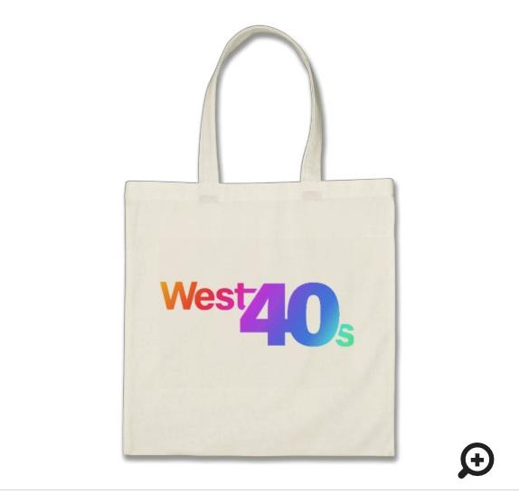 """West 40s"" Fabulous Tote Bag"
