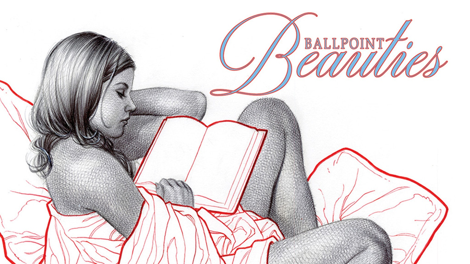 This art book reveals Frank Cho's ballpoint pen technique with step-by-step breakdowns and commentary.