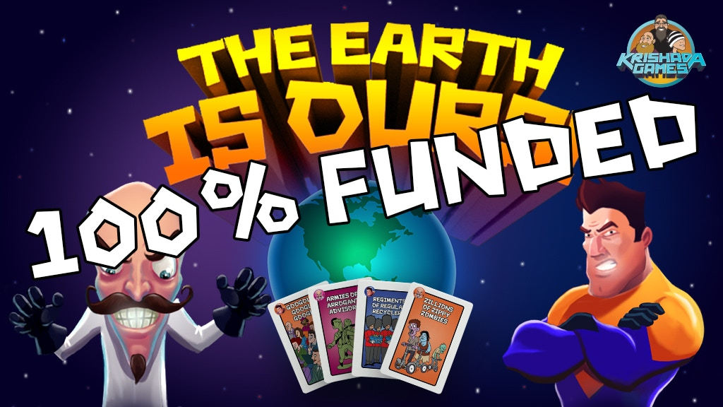 Krishada Games - The Earth is Ours! project video thumbnail