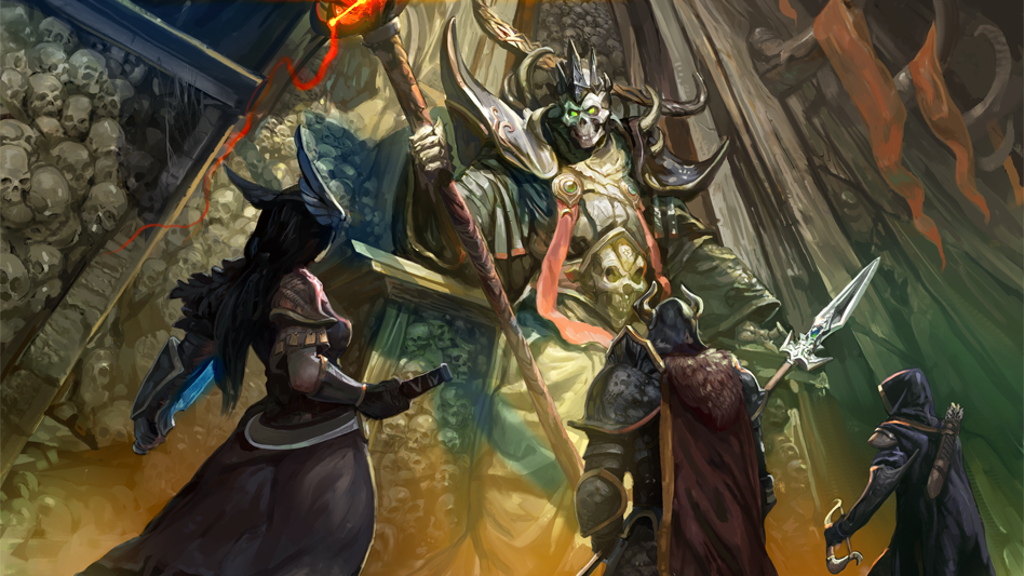 Project image for Labyrinth: The Lich Lord's Lair tabletop fantasy RPG game