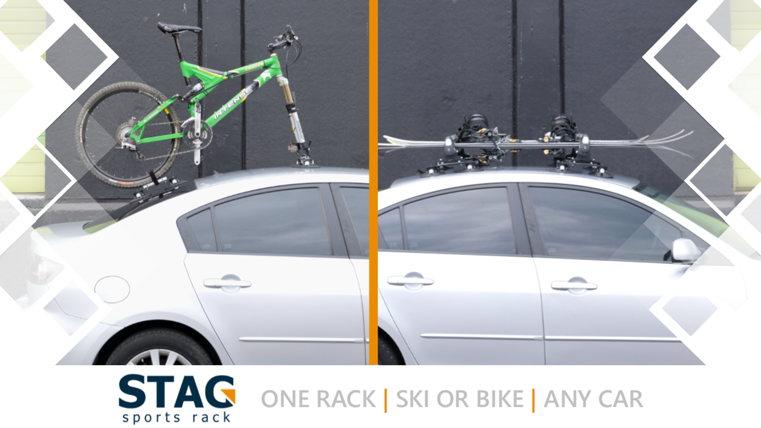 The first ever interchangeable roof rack for multi-sport athletes. Pre-order still available through our website!