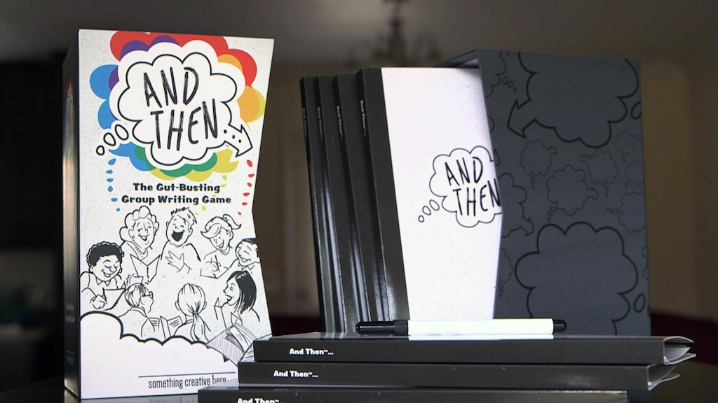 AndThen™ ... a new gut-busting group writing game project video thumbnail