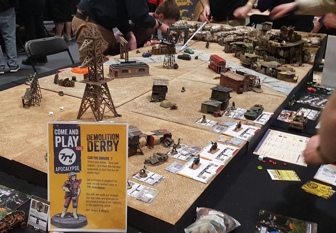Playing 7TV:Apocalypse at Salute 2018