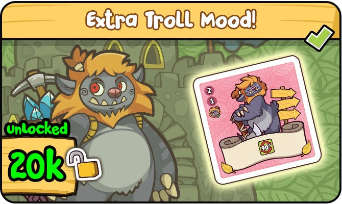 Troll now rotates Kingdom Card by 90 degrees!