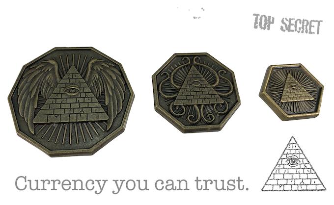 Illuminati Coins by Steve Jackson Games — Kickstarter