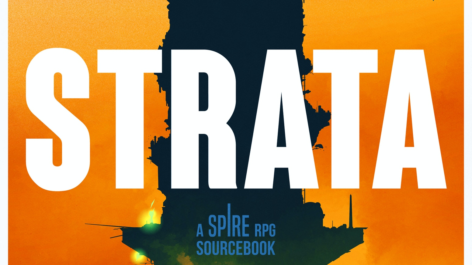 A full-colour hardback sourcebook for the Spire RPG.