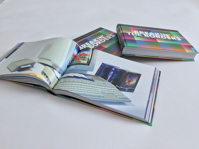 Digital entrepreneurs review their demoscene past. A narrative art book full of 80s pixel-creativity.