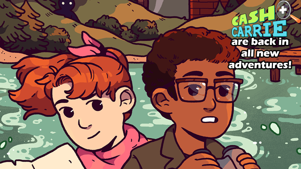 CASH & CARRIE - BOOK TWO: SUMMER SLEUTHS! project video thumbnail