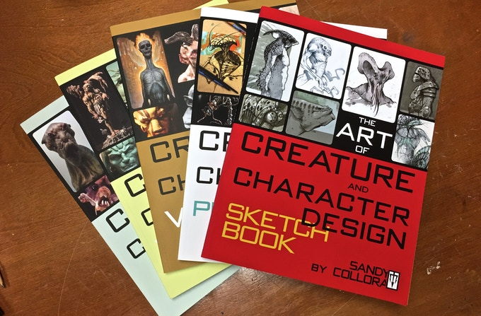 The Art of Creature and Character Design V5: SKETCHBOOK by