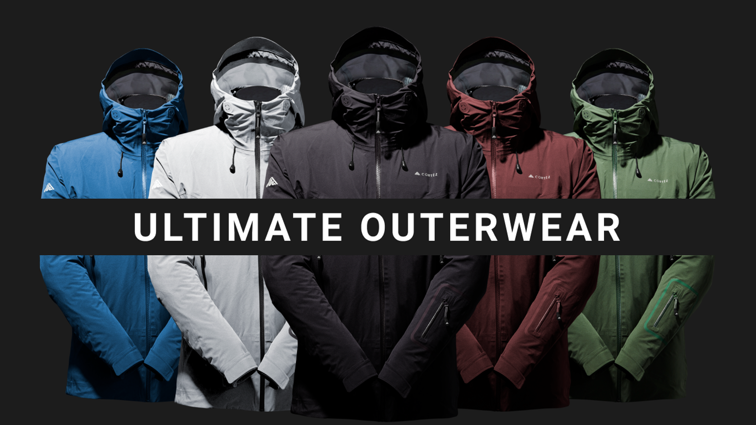 High-performance outerwear for all seasons. 3 lightweight jackets, made of high-quality materials, simplistic design at excellent value