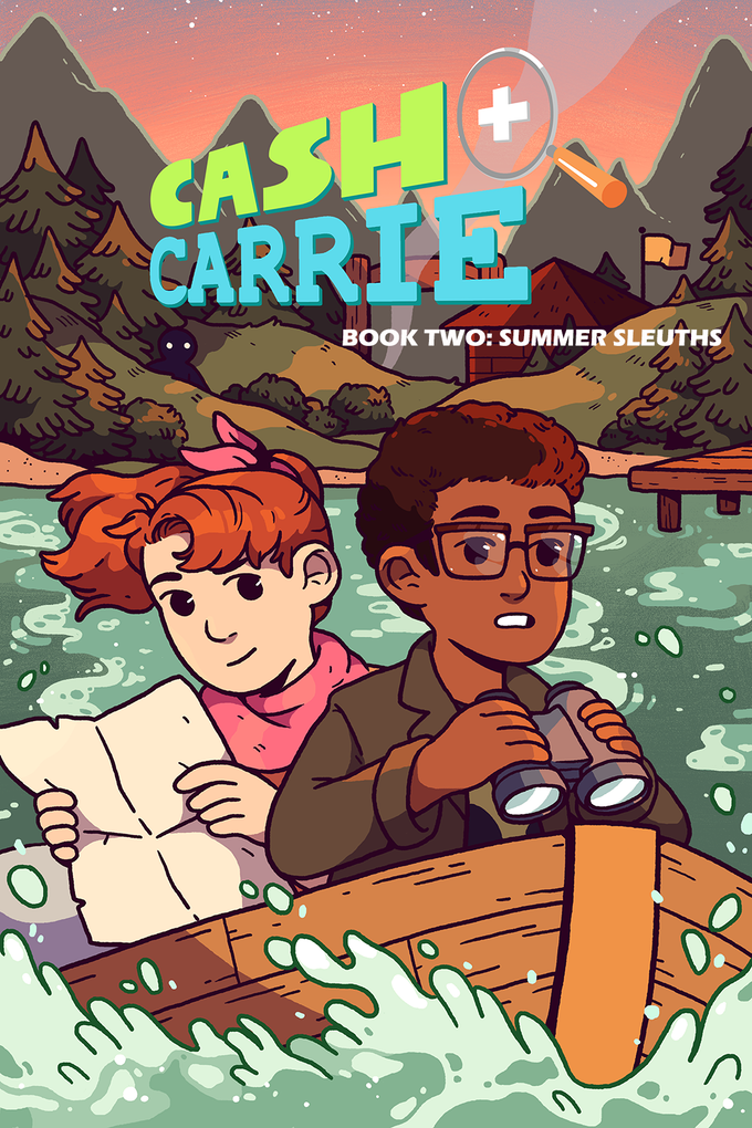CASH & CARRIE - BOOK TWO: SUMMER SLEUTHS!