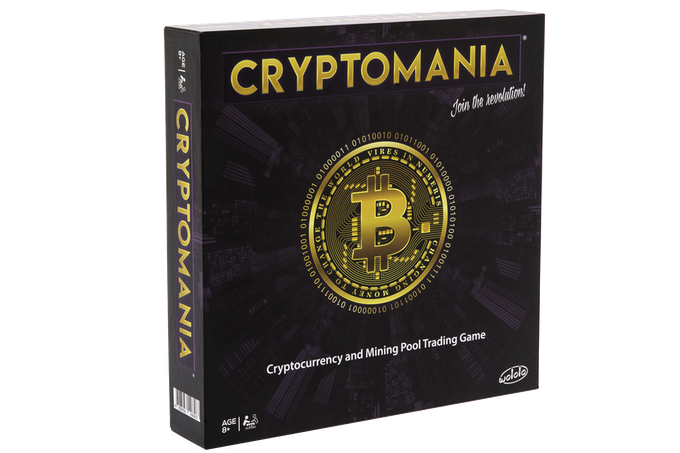 Prototype of the Collector's Edition Cryptomania box