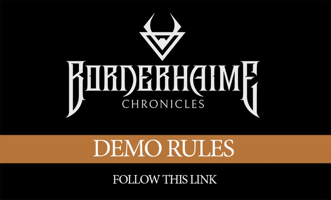 Borderhaime demo rules