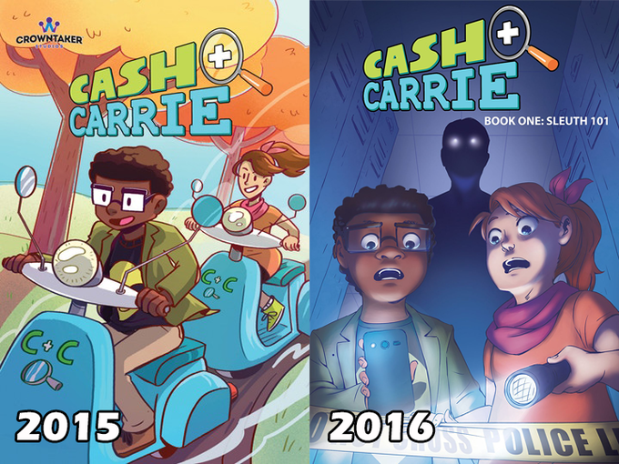 2015 Cover by Penny Candy Studios. 2016 Cover by Nilah Magruder.