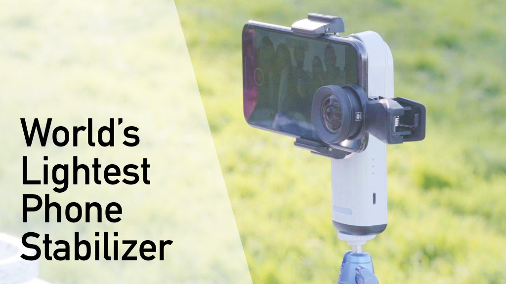 Pocket: Phone stabilizer at its lightest and most affordable project video thumbnail
