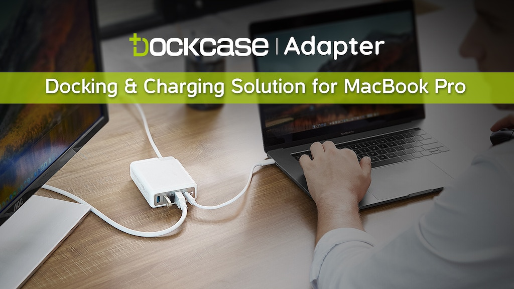DockCase Adapter: Turn your MacBook Pro charger into a dock project video thumbnail
