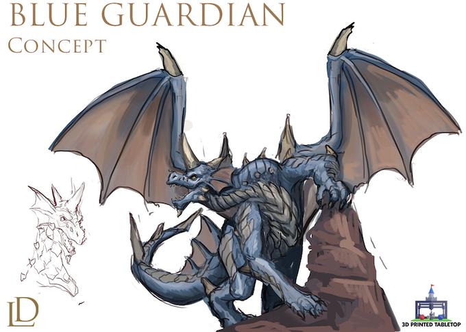 Blue Guardian Concept
